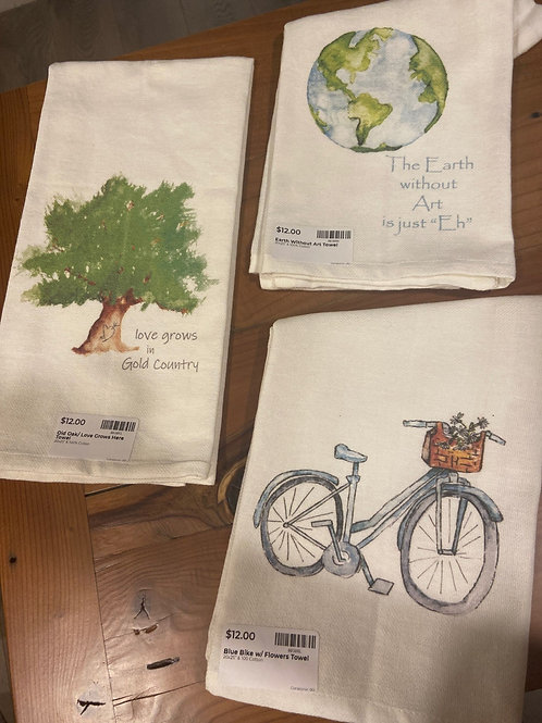 "20"" x 25"" 100% Cotton High absorption Dish or Hand towel - Pick your style!"