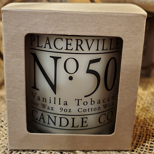 Placerville Candle Company - Vanilla Tobacco