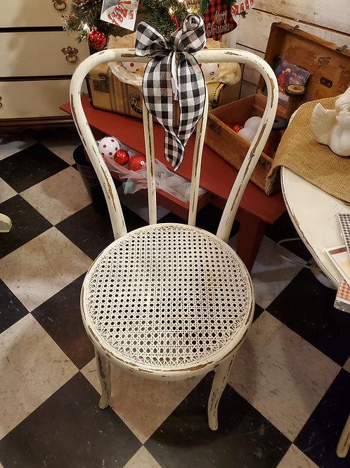Shabby Cane Chair - 2 available