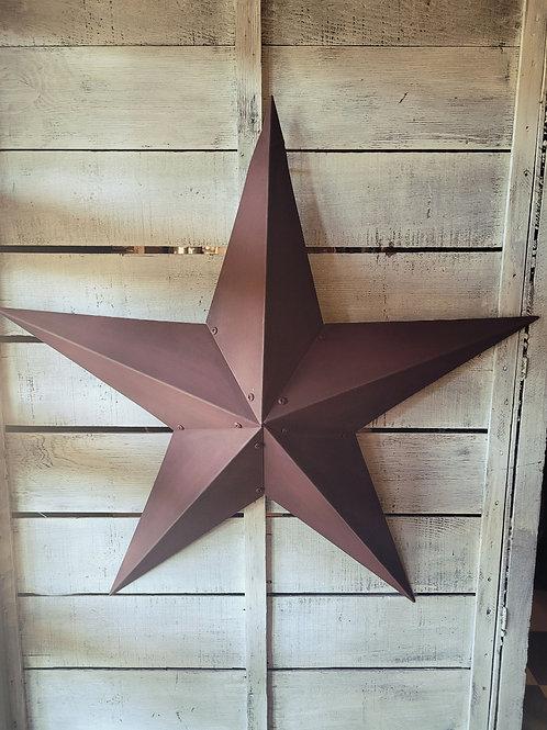 3' Burgundy Metal Star 🌟