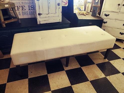 Long Nailhead Bench