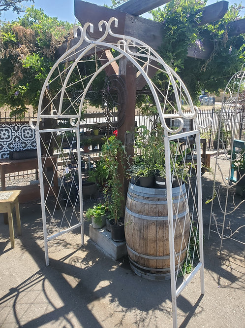 "Pineapple Arbor - 59"" wide x 88"" tall"