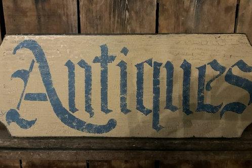 Sale Antiques Sign