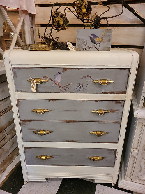 "Waterfall Dresser ""Miss Lady Bird"" Circa 1940's"