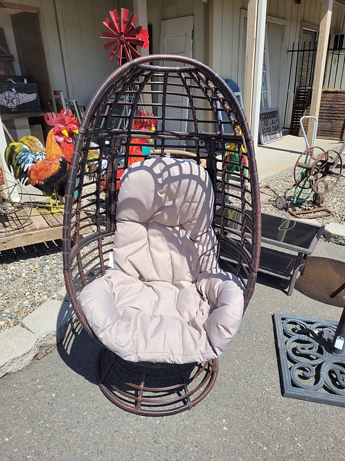 Swiveling Egg Chair