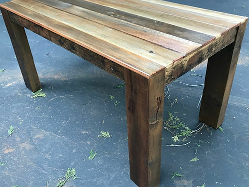 Locally Made Reclaimed Redwood Dining Table, A2