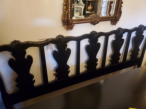 Black French Provencial Style Headboard