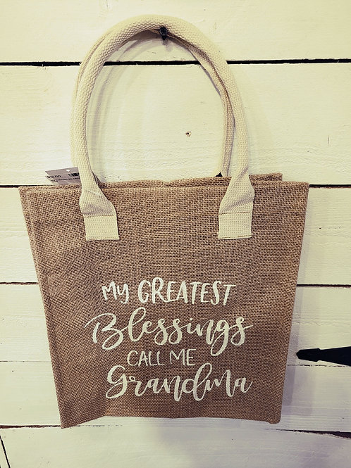 Greatest Blessings Tote Bag