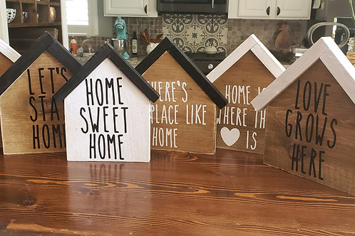 Locally Made Home Sign