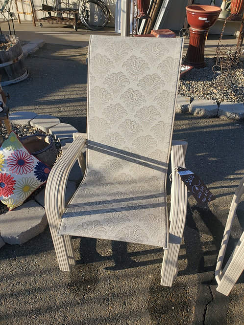 Set of 2 Outdoor Chairs - 2 sets available