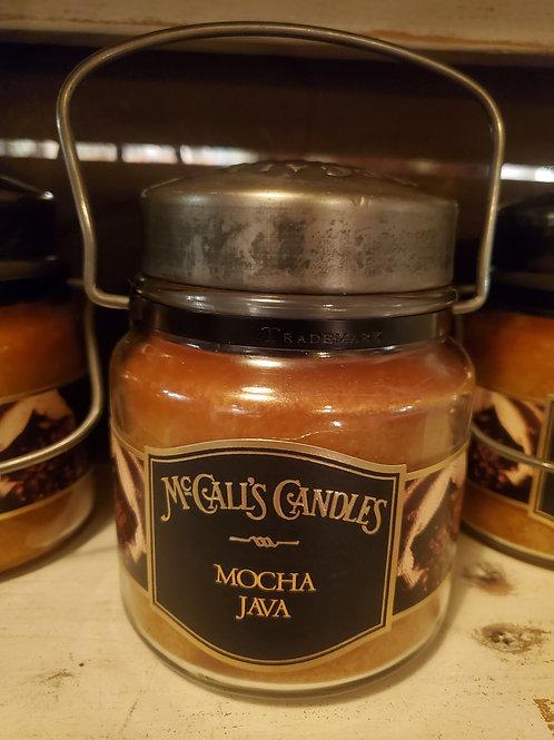 """Mocha Java"" McCall's Jar Candle"