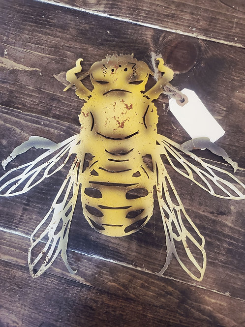 Metal Honey Bee