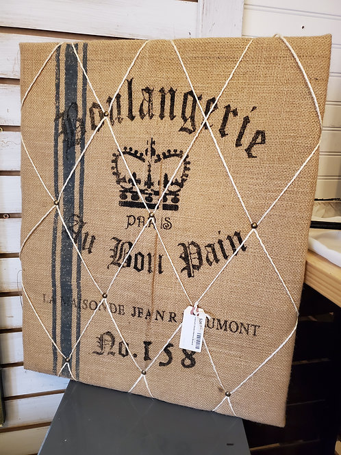 """French Style Memo Board - 18 1/2"""" x 22"""""""