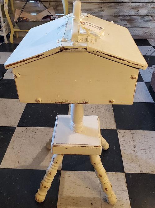 """Vintage Secret Storage Stand - 26 1/2"""" tall x 14"""" wide"""