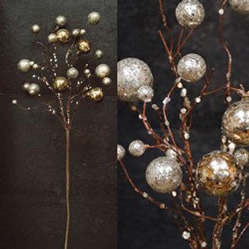 Platinum Ball Twig Branch
