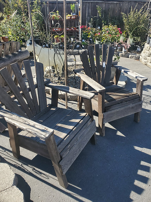 Set of 2 Outdoor Chairs