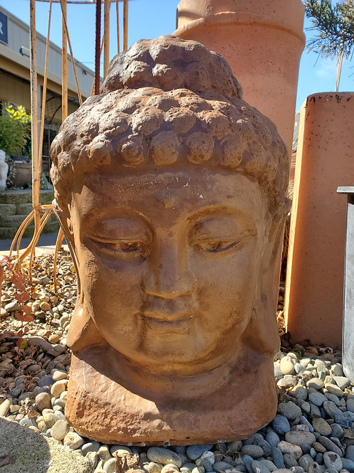 Large Cement Buddha Head