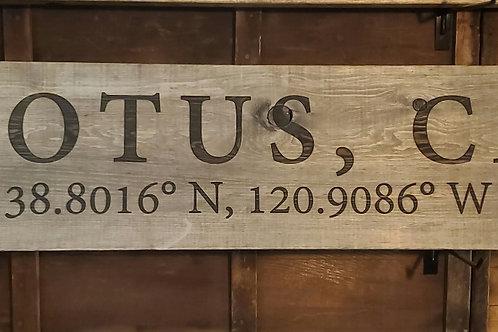 4' Lotus Sign