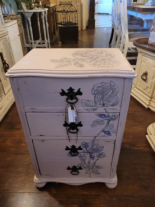 Pretty Pink Cabinet w/ Storage