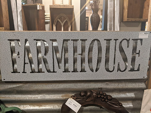 Large Lazer cut Farmhouse sign