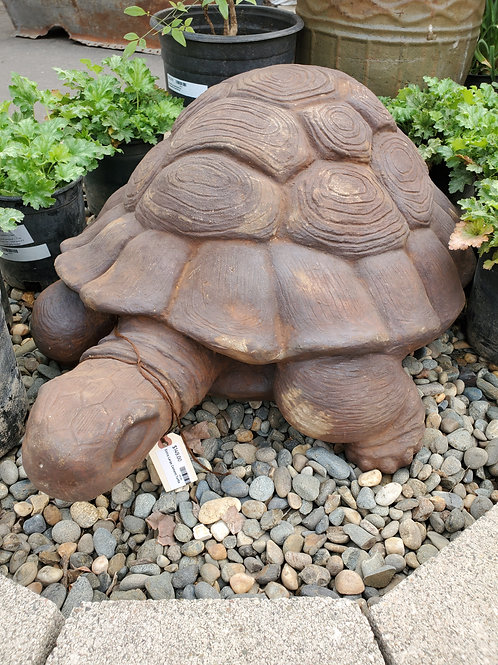 "Large Cement Turtle - Approx 32"" x 23"""