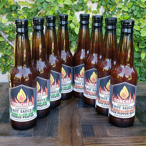 Torched Beer Hot Sauce