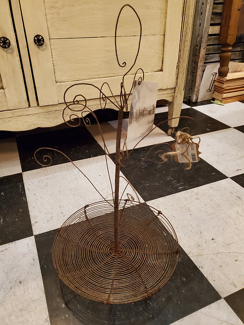 "Wire Display Stand 18"" tall x 10"" wide"