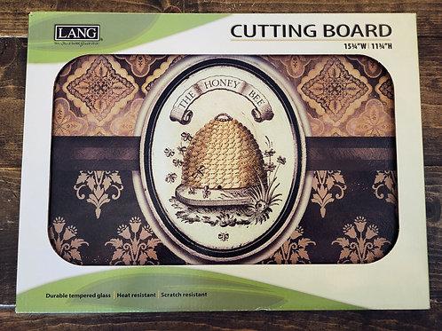 """""""Honey & Grey"""" Cutting Board"""