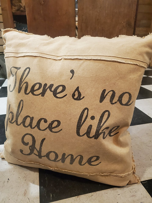 There's No Place Like Home Pillow 19""