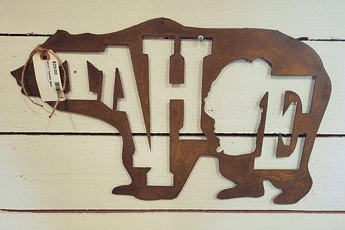 "Rusty Metal ""Tahoe"" Bear"