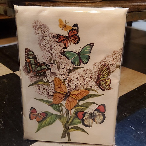 Flour Sack Kitchen Towel (butterfly)