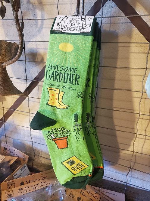 """""""Awesome Gardener"""" Socks"""