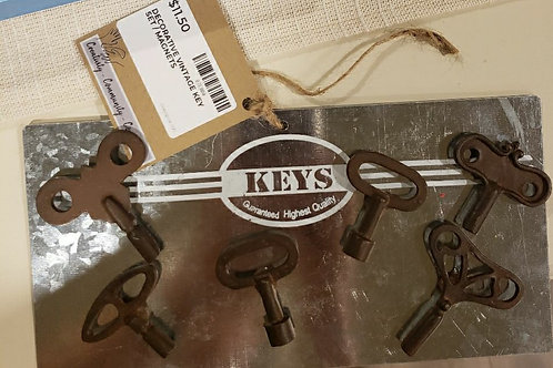 Set of Decorative Key Magnets!
