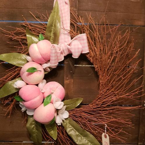 Peachy Wreath