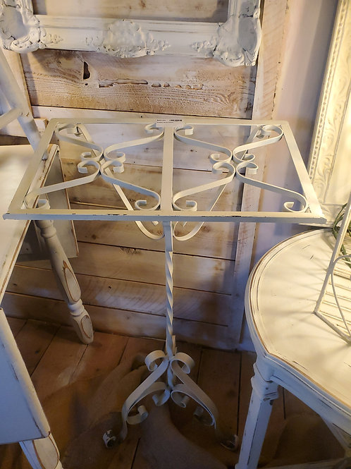 "Shabby Iron Book Stand - 31 1/2"" tall x 20"" wide"