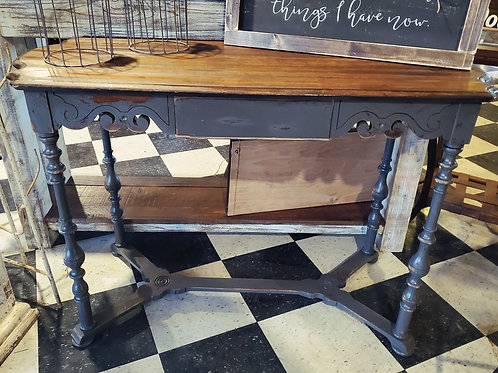 Fancy Grey Entry Table