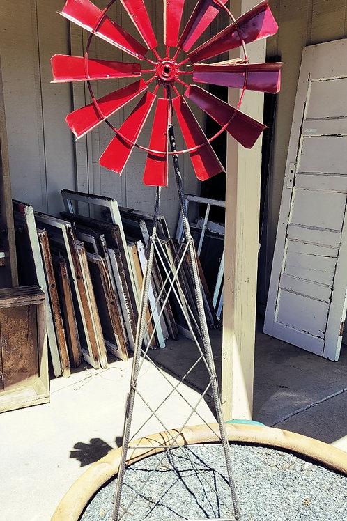 "60"" Iron Windmill"
