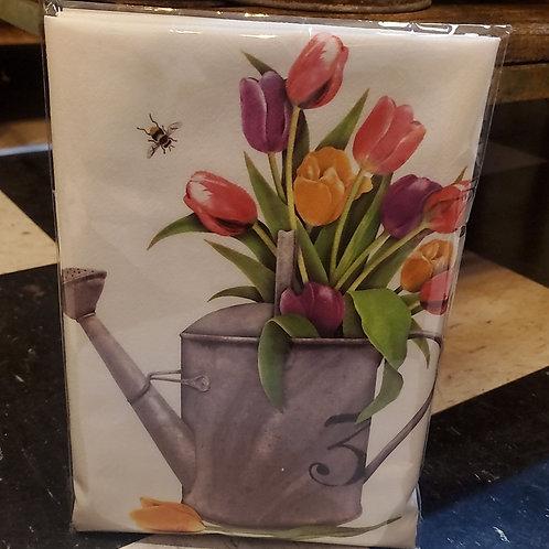 Flour Sack Kitchen Towel (tulips)