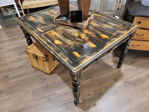 Black Table W/ Drawers