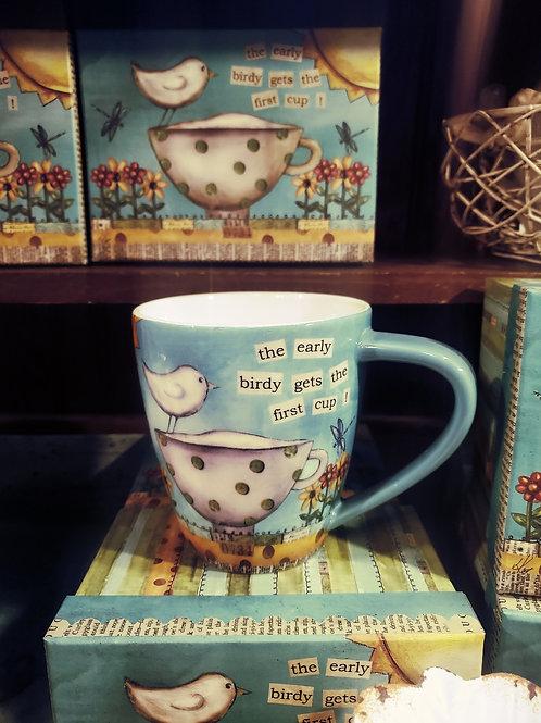 """Color My World"" Cafe Mug w/ Gift Box (17 oz)"