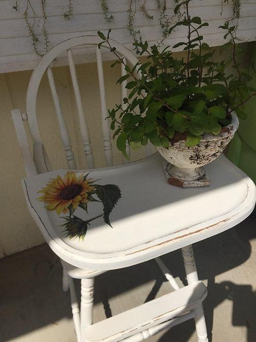 """Sweet Sunflower Highchair 40"""" tall"""