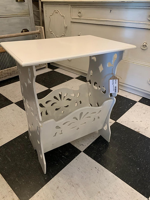 """End Table / Magazine Rack 18"""" tall x 15 1/2"""" wide"""