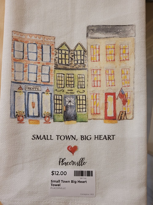 Placerville Tea Towel