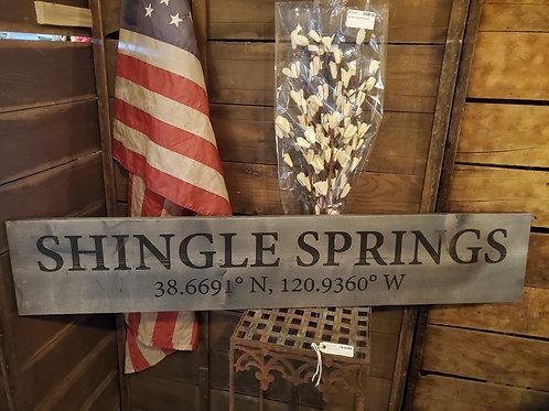 4' Shingle Springs