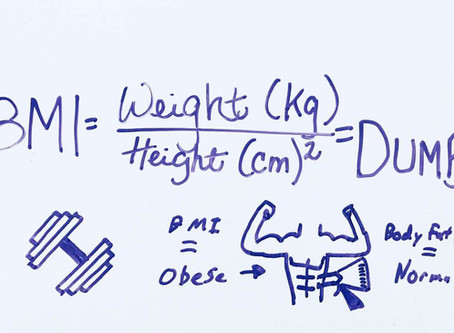 3 REASONS WHY BMI IS NOT ONLY DUMB, IT'S SO DUMB & A BETTER ALTERNATIVE