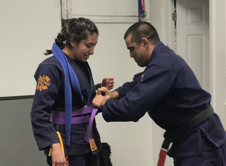 Think you don't deserve your belt promotion? The one thing to tell yourself