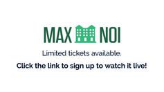 MAX-NOI Conference Promo