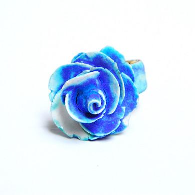 Inel Blue Rose