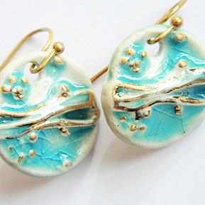 Cercei Aqua Gold II