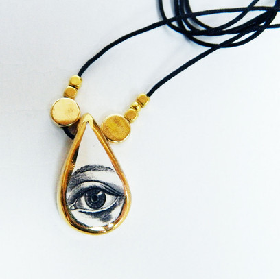 Medalion LVE Teardrop